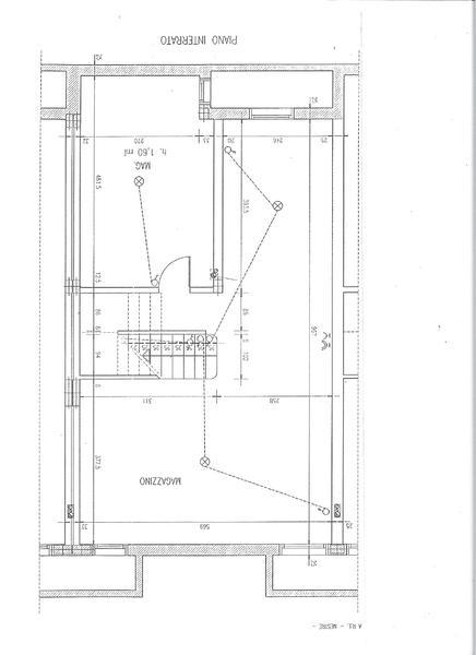 piano interrato - VILLA A SCHIERA MARTELLAGO (VE) MAERNE, CENTRO