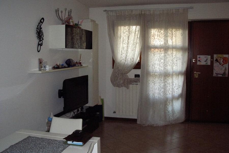 soggiorno2 - VILLA A SCHIERA MARTELLAGO (VE) MAERNE, CENTRO