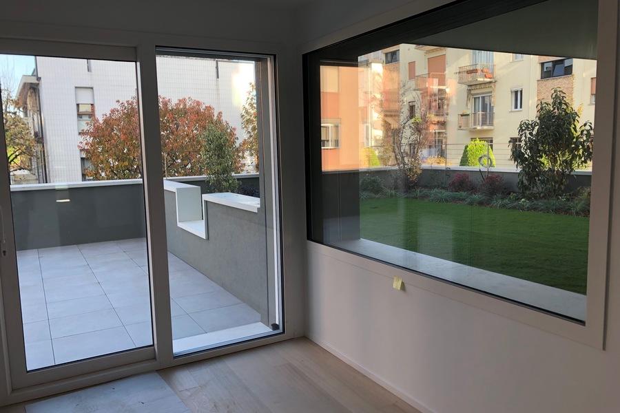 vetrata terrazze primo piano - APPARTAMENTO VENEZIA (VE) MESTRE, CARPENEDO
