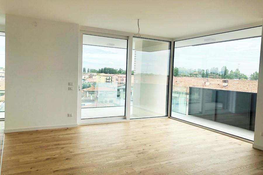 soggiorno open-space (2) - APPARTAMENTO ATTICO VENEZIA (VE) MESTRE, CARPENEDO