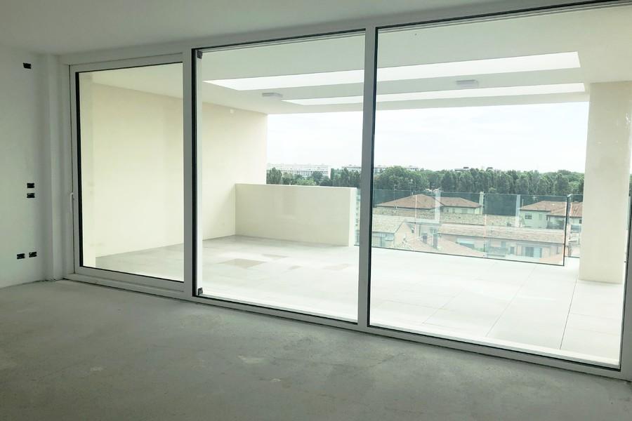 soggiorno attico (2) - APPARTAMENTO ATTICO VENEZIA (VE) MESTRE, CENTRO