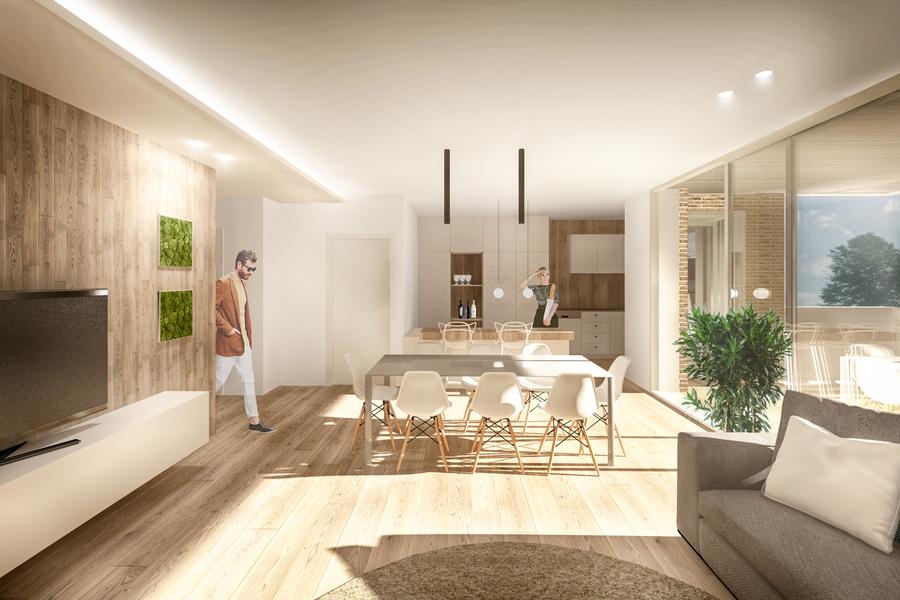 cortetrevisan_int_1_web - apartment MARTELLAGO (VE) MAERNE, CENTRO