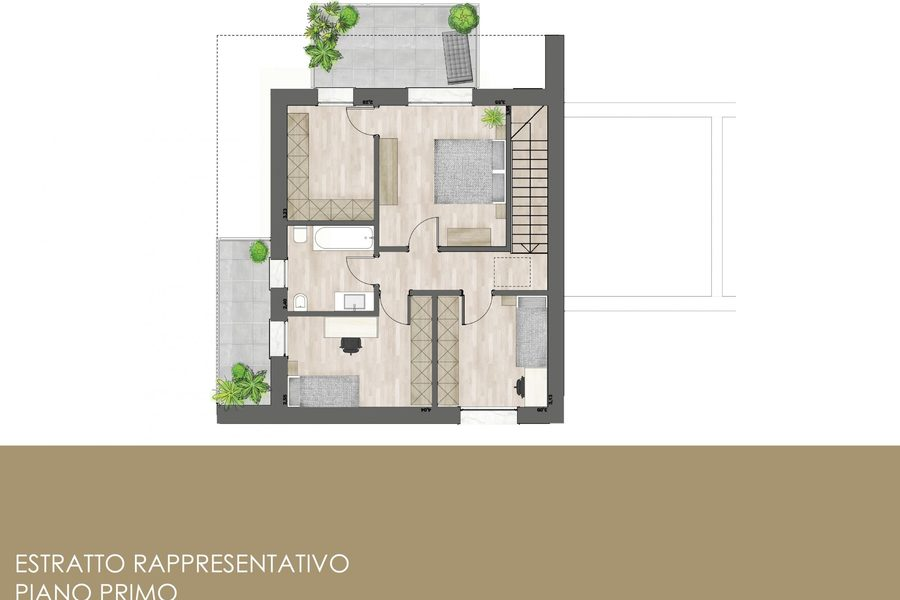 render - BIVILLA VENEZIA (VE) CHIRIGNAGO, CHIRIGNAGO